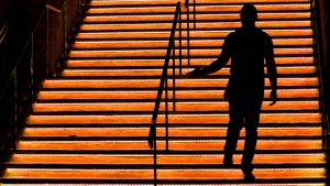 sillouette-man-walking-up-stairs-taking-10000-steps
