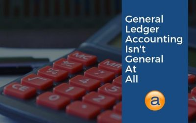 General Ledger Accounting isn't so General After all