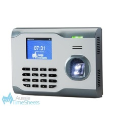 aussie time sheets fingerprint scan time clock ats