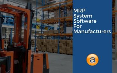 MRP System Software for Manufacturers
