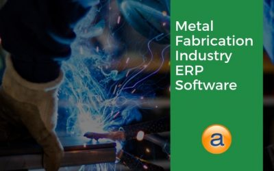 Metal Fabrication Industry ERP Software