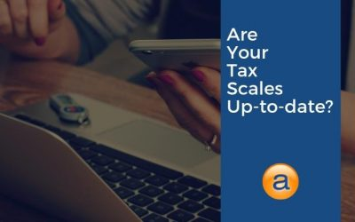 Are Your Tax Scales Up-to-Date