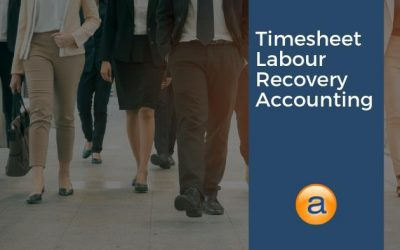 Timesheet Labour Recovery Accounting